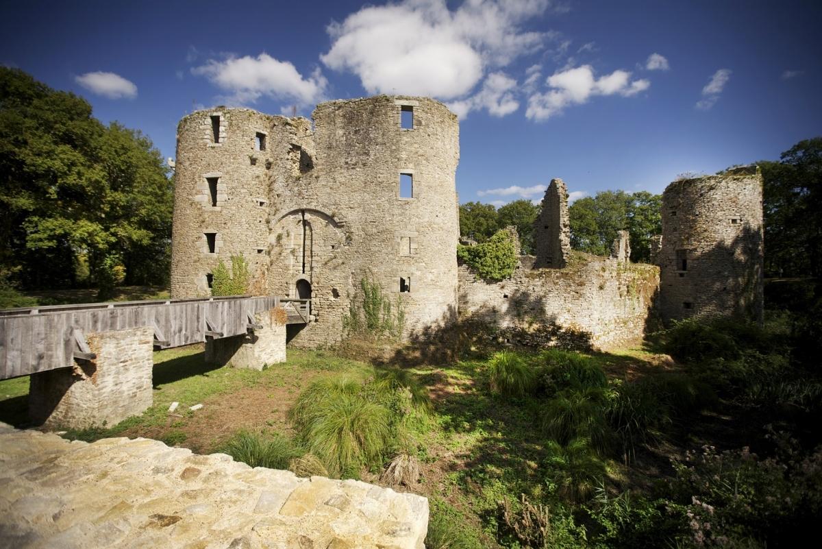 Visite du château de Ranrouët Herbignac 44
