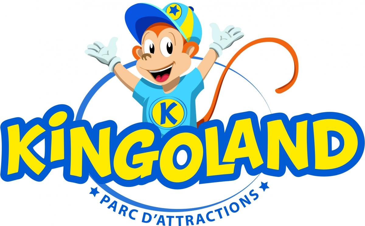 logo kingoland parc attraction morbihan